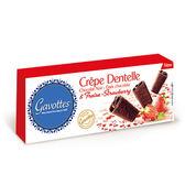 Les Gavottes 樂緹‧黑巧克力草莓法式薄餅90g