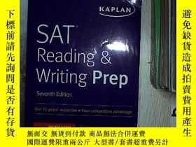 二手書博民逛書店SAT罕見READING WRITING PREP SAT閱讀寫作準備Y261116