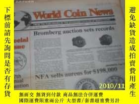 二手書博民逛書店World罕見Coin News(Vol.20,No.1)(Ja