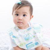 Cutie Bella印花布 純棉 防水圍兜/口水巾-Car 汽車