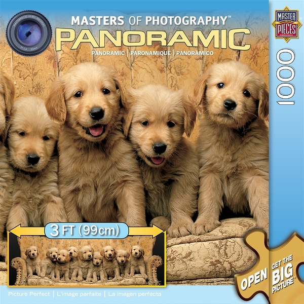 【KANGA GAMES】拼圖 全景攝影大師系列 - 黃金獵犬Masters of Photography Panoramic - Picture Perfect 1000片