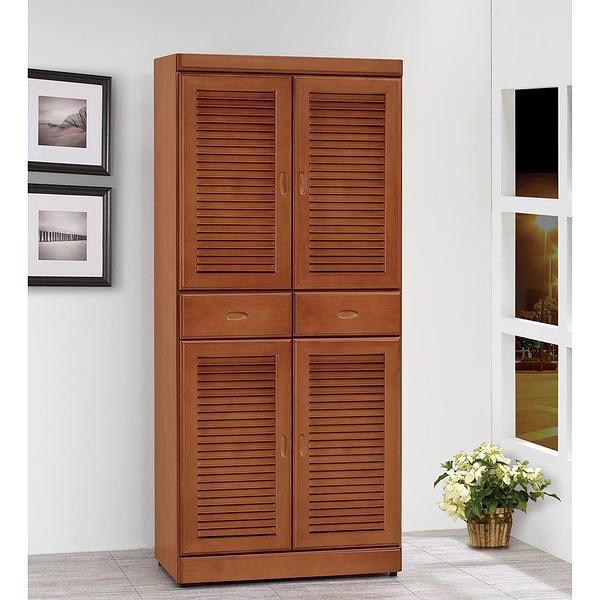 樟木色6尺高鞋櫃(21SP/862-2)