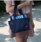 媽媽包外出遛彎母嬰包帶飯手提袋保溫便當飯盒【步行者戶外生活館】