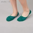 a la sha+a 大小圓點組合線條隱形襪