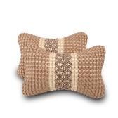汽車頭枕靠枕車用護頸枕頭一對安全
