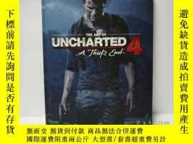 二手書博民逛書店The罕見Art of Uncharted 4 Naughty