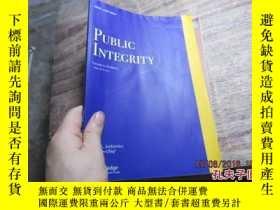 二手書博民逛書店public罕見integrity volume 17 numb