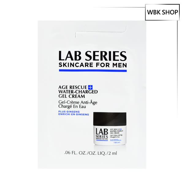 Lab Series 雅男士 超激活青春水凝霜 2ml Age Rescue Water Charged Gel Cream - WBK SHOP