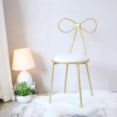北歐鐵藝吧臺椅吧椅創意吧凳吧臺凳高腳凳 簡約休閑餐椅餐廳椅子 極客玩家