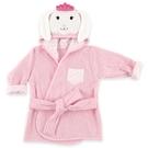 Luvable Friends 動物造型綁帶浴袍 - 粉紅皇冠小兔 57065