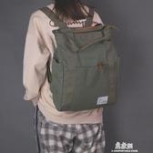後背包書包女大學生韓版原宿ulzzang校園背包大容量帆布ins超火的雙肩包 易家樂