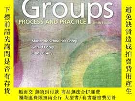 二手書博民逛書店Groups:罕見Process and PracticeY19