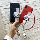 情侶奶牛三星S21 Ultra手機殼 可愛零錢包SamSung S21手機套 三星S21保護殼 創意卡通Galaxy S21+保護套