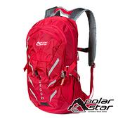【PolarStar】休閒背包 25L『紅色』P20805 露營.戶外.旅遊.多隔間.登山背包.後背包.肩背包.行李包