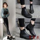 切爾西水鞋雨鞋女短筒雨靴防水防滑【聚寶屋】