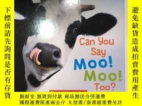 二手書博民逛書店Can罕見You Say Moo!Moo!Too?Y352210 Scholastic Scholastic