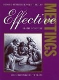 二手書博民逛書店《Effective Meetings Students Book: Oxford Business English Skills》 R2Y ISBN:9780194570909