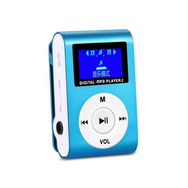 隨身聽 mp3 mp4播放器運動跑步隨身聽音樂有屏迷你插卡MP3學生習英語聽力【快速出貨八折優惠】