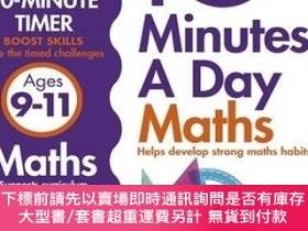 二手書博民逛書店10罕見Minutes a Day Maths Ages 9-11 每天十分鐘:數學,9~11歲Y454646