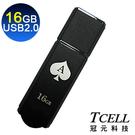 TCELL 冠元-USB2.0 16GB 撲克碟(黑桃A)