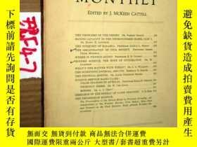 二手書博民逛書店SCIENTIFIC罕見MONTHLY 科學月刊1934年3月