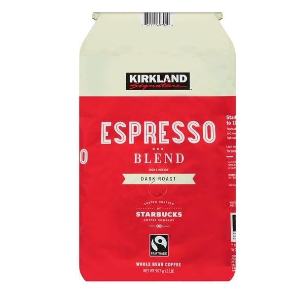 【現貨】Kirkland Signature 科克蘭 深焙咖啡豆 907公克