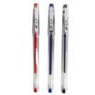 SKB 中性筆 G-158 鋼珠筆 0.4mm/一小盒12支入(定15) 超細 透明桿 原子筆 圓珠筆-文