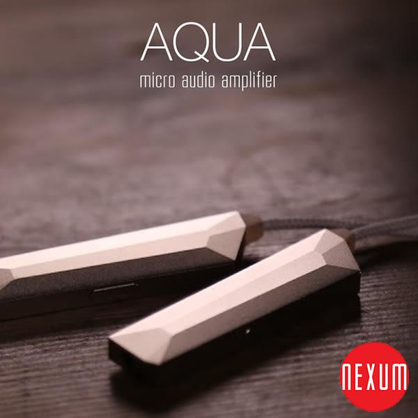 Nexum AQUA 耳機微型擴大機 DAC 耳擴 支援高解析24bit/192kHz 超薄 迷你型 ios手機專用