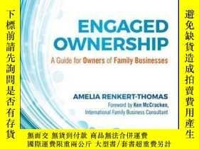 二手書博民逛書店Engaged罕見Ownership: A Guide for Owners of Family Business