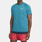 Nike Heather [NESSA589-376] 男 T恤 短袖 防曬衣 抗UV 排汗 乾爽 舒適 綠