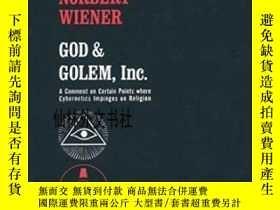 二手書博民逛書店【罕見】God And Golem, Inc:A Comment