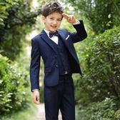 兒童小西裝套裝花童韓版男孩禮服男tz9658 【KIKIKOKO】  全館滿千九折