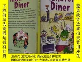 二手書博民逛書店very罕見first reading the monster diner 第一次閱讀 怪物餐廳Y200392