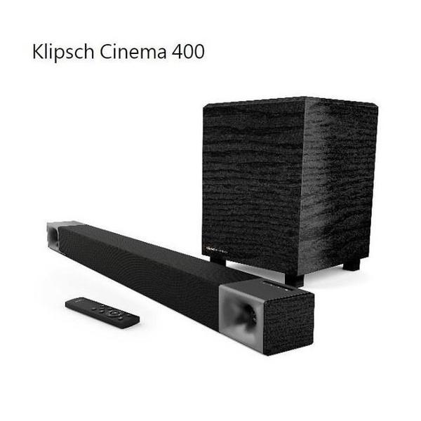 【南紡購物中心】Klipsch 2.1聲道家庭劇院 Cinema 400