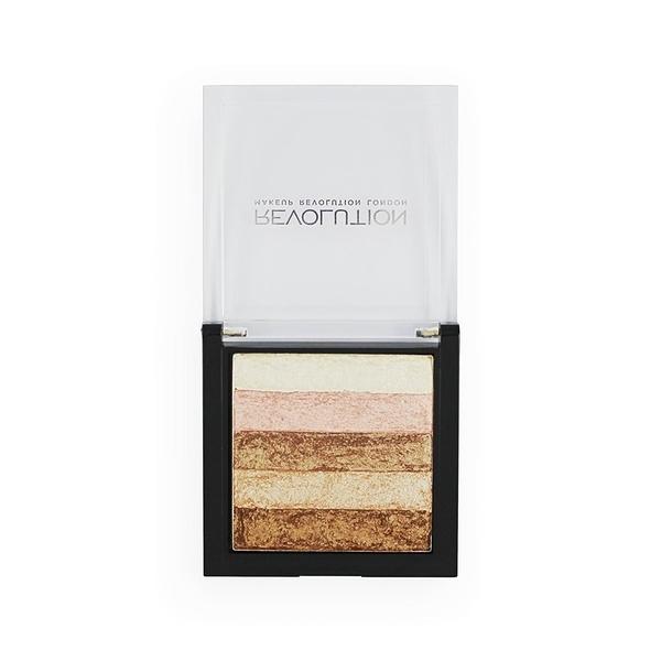 英國 Makeup Revolution Vivid Shimmer Brick - Radiant 高光打亮