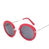 太陽眼鏡-時尚創意圓框設計男女偏光墨鏡12色73en36【巴黎精品】