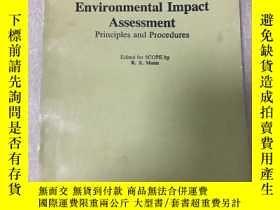 二手書博民逛書店英文原版罕見environmental impact asses