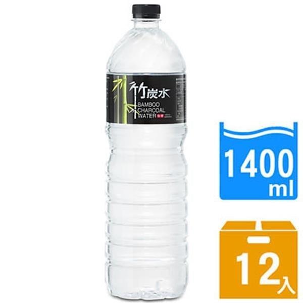 【南紡購物中心】【奇寶】竹炭水1400ml(12瓶x2箱)