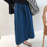 正韓九分韓 寬鬆 直筒褲闊腿褲 韓國空運極顯瘦闊腿褲 艾爾莎 【TG300232】