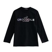 『小鱷魚童裝』素面印花T恤(08號~18號)556402