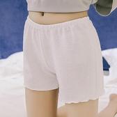 安全褲 安全褲防走光女夏內外穿胖mm冰絲無痕打底褲薄款大碼保險寬鬆短褲  遇見初晴