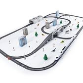 電動兒童和諧號火車玩具動車仿真高鐵小火車軌道車玩具車模型男孩