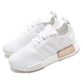 adidas 休閒鞋 NMD_R1 W 白 金 女鞋 運動鞋 襪套式 【ACS】 FV1788