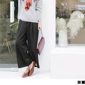 《BA3630》素色打褶西裝寬褲 OrangeBear