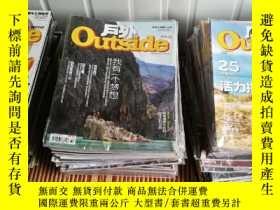 二手書博民逛書店罕見outside戶外雜誌2013年全年12本打包Y308598