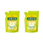 (組)茶樹莊園茶樹檸檬超濃縮洗碗精補充包2入