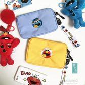 手拿包-ins韓國卡通可愛零錢包女拉鍊小錢包手機零錢袋布藝小手包手拿包 多麗絲旗艦店