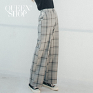 Queen Shop【04101422】經典格紋挺料西裝長褲 S/M/L*現+預*