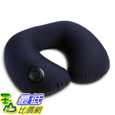 [美國直購] 航空坐飛機用頸枕睡枕枕頭 Lewis N. 520-Blue Clark Adjustable On Air Neck Pillow