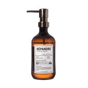 (組)hoi-實驗室香氛洗髮精-500ml煙燻皮革(附古銅壓頭)